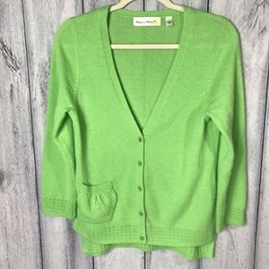 Anthropologie Charlie and Robin Cashmere Cardigan